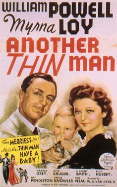 Another Thin Man 11x17 Movie Poster (1939)