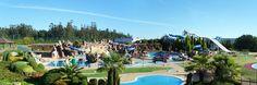 Panorámica xeral do #Aquapark #Cerceda