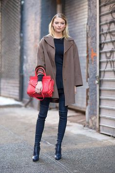 #MarthaHunt #models #offduty #streetstyle