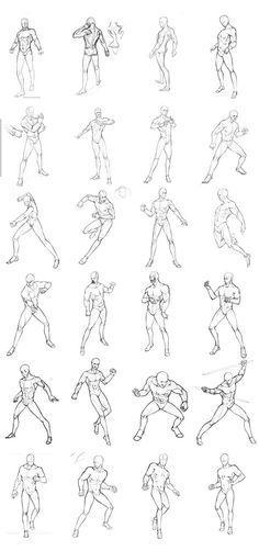 male poses chart 02 by THEONEGYou can find Male poses and more on our website.male poses chart 02 by THEONEG Drawing Poses Male, Male Figure Drawing, Sketch Poses, Guy Drawing, Drawing Tips, Gesture Drawing Poses, Drawing Faces, Drawing Tutorials, Contour Drawings