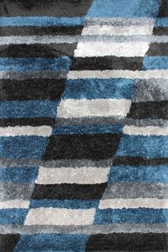 Our Jenoa range is EXCLUSIVE to Rugs a Million. They are a super plush shaggy rug that will entice your senses, adding warmth and luxury to any room in your home. They are available in a selection of stylish geometric designs that are made up of rich primary tones, and come in a great range of sizes.
