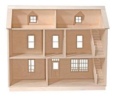 diy dollhouse kit - i need to do this one day!