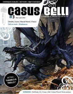 Le défunt magazine Casus Belli renait de ses cendres par l'intermédiaire de la société Black Book... une bien belle initiative !