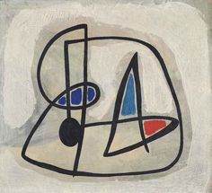 Joan Miró (1893-1983) Tête d'homme IV (Head of a Man IV) signed and dated 'Miró. 4.31.'
