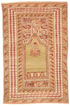 Turkish Ghiordes rug, 19th century