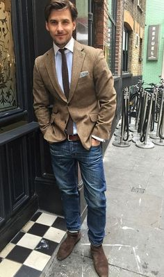 5 Most Stylish Ways To Wear Jeans: Daily ⋆ Men's Fashion Blog - TheUnstitchd.com