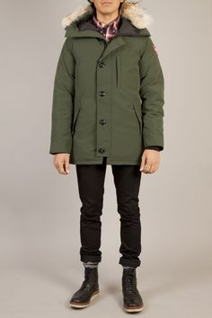 CANADA GOOSE Chateau parka in forest green! available now at dwndclothing.com!
