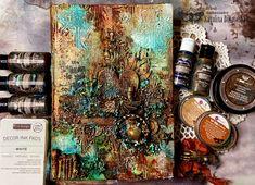 Finnabair Mixed Media, Alchemy Art, Journal Cards, Love Art, Altered Art, Note Cards, Art Daily, Art Projects, Brand Ambassador