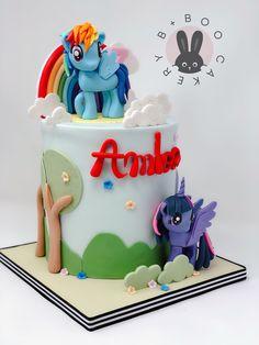 Velvet Cake, Red Velvet, My Little Pony Cake, Beautiful Cakes, Birthday Cakes, Cookie Recipes, Fondant, Unicorn, Cupcakes