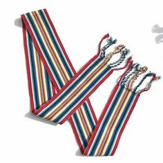 Fajas Accessories on Poshmark Pink Blue, Red And Blue, Sash Belts, Traditional Outfits, Hand Weaving, Best Deals, Colorful, Accessories, Black