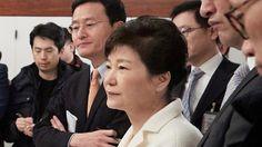 Protesters celebrate in Seoul over Park Geun-hye impeachment
