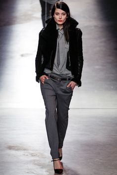 Anthony Vaccarello Fall 2014 RTW - Review - Fashion Week - Runway, Fashion Shows and Collections - Vogue