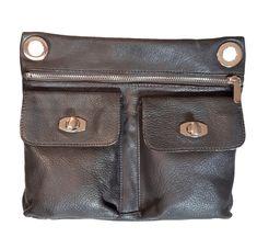 7ab0bf3d7a8f Vintage DANIER CANADA Genuine buttery soft Mahogany Brown Leather flat  Crossbody  AuthenticDANIERluxurydesignersatchelmessenger ...