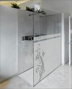 de vidrio grabado al agua fuerte-baño-films