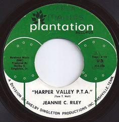 Harper Valley PTA ... Jeannie C Riley