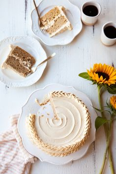 Pear cake with dulce de leche buttercream recipe