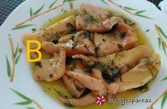 Σουπιές λεμονάτες Seafood Dishes, Fish And Seafood, Seafood Recipes, How To Cook Fish, My Cookbook, Recipe Images, Greek Recipes, Bon Appetit, Main Dishes