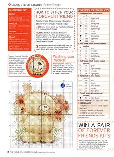 ru / Фото - The world of cross stitching 087 август 2004 - tymannost Cross Stitch Pattern Maker, Free Cross Stitch Charts, Cross Stitch For Kids, Cross Stitch Books, Cross Stitch Baby, Cross Stitch Patterns, Cross Stitching, Cross Stitch Embroidery, Embroidery Patterns
