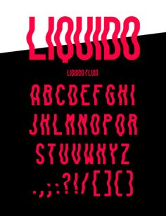 """The 2015 version of The 100 Greatest Free Fonts Collection is finally here. Do you remember our Greatest Free Fonts Collection"""" articles for and. Graffiti Lettering Fonts, Typography Fonts, Typography Design, Typography Inspiration, Graphic Design Inspiration, Best Free Fonts, Font Free, Free Fonts Download, Wavy Font"""