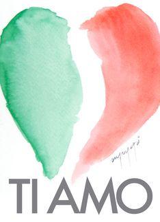 "The Italian way of saying ""I love you"" in Spanish ""Te Amo"" so close. Italian Girls, Italian Style, Italian Lady, Turin, Naples, Rome, Italian Quotes, Italian Memes, Italian Posters"