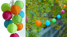 Soji Solar String Lanterns By Allsop Home & Garden String Lanterns, Solar String Lights, Solar Lanterns, Japanese Patio Ideas, Landscape Lighting, Outdoor Lighting, Sustainable Gifts, Summer Time, Gifts For Mom
