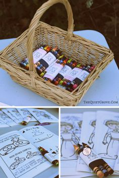 DIY Wedding Reception Kids Corner With Cricut! DIY Wedding Crayon Wraps & Activity Books with Cricut Kids Table Wedding, Diy Wedding Reception, Diy Wedding Flowers, Wedding With Kids, Young Wedding, Wedding Book, Wedding Ideas, Winter Wedding Favors, Diy Wedding Favors