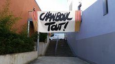 En ce début de semaine des Arts, nous avons donné carte blanche à Pierre Fraenkel pour nous décliner 3 messages sur 3 de nos campus (ici campus de Belfort)  Pour en savoir plus : https://www.facebook.com/pages/Pierre-Fraenkel/322811761070627?ref=hl