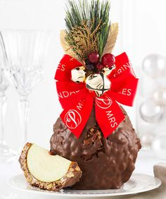 Look what I found on #zulily! Milk Chocolate, Walnut & Pecan Jingle Bells Jumbo Apple #zulilyfinds