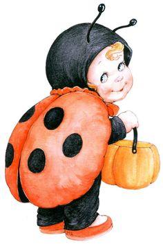 Printable - Halloween - Lady Bug - Ruth Morehead (Morehead Inc.)