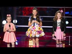 ▶ Molly S, April and Molly W Sing Over The Rainbow   The Voice Kids Australia 2014 - YouTube