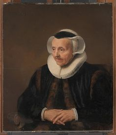 Portrait of an Old Woman Style of Jacob Backer  (Dutch, second quarter 17th century) Medium: Oil on wood Accession Number: 29.100.2
