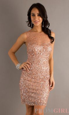 Sleeveless Sequin Dress, Morgan Sequin Homecoming Dress- PromGirl