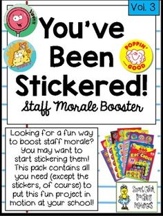 Any school staff is under an enormous amount of pressure these days. Therefore, it is important to do some little things to boost staff morale throughout the year. This is a fun and easy way to encourage some random acts of kindness in your building! Teacher Morale, Staff Morale, School Staff, School Counselor, Sunday School, Teacher Appreciation Week, Teacher Gifts, Volunteer Appreciation, Planning School