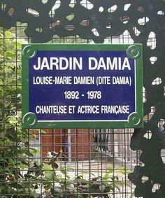 Le jardin Damia, en cage...  (Paris 11ème).
