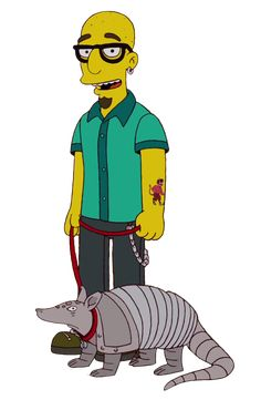 Terrence Simpsons Characters, Fictional Characters, Bart Simpson, Zero, Posters, Board, Style, The Simpsons, Swag