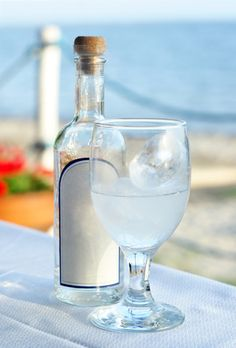 Ouzo cocktails  OPA! Day is on 9/15 , Greek style - HaHaHa finally found something to do with Ouzo besides drink it straight!!!