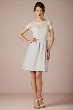Sorbetto Dress in Sale at BHLDN I love the top, but with a fuller skirt