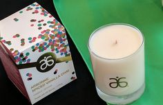 2017 Arbonne Holiday:  Vanilla Chai Candle. Available 9-16-17.  tobiekeown.arbonne.com
