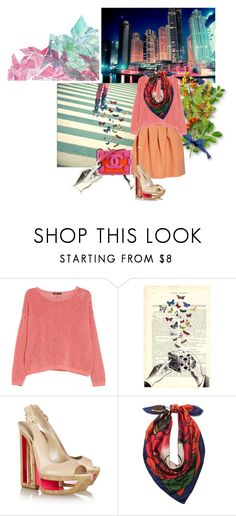 """""""Forgive My Silent Storm, Its Heading To The City We Built..."""" by indie-nesya ❤ liked on Polyvore featuring MANGO, Chanel, Casadei and Betsey Johnson"""