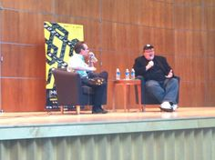"""Michael Moore in conversation with Thom Powers -- on his own Traverse City Film Festival """"it's more fartsy than artsy ..."""""""