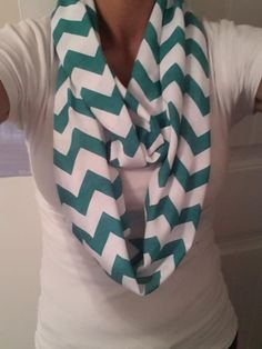Chevron Infinity Scarves available in 16 different colors - $20