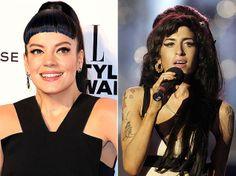"♫ ♪ ♫ They tried to make me go to rehab but I said, ""No, no, no"" ♫ ♪ ♫ - Lily Allen vai homenagear Amy Winehouse em novo álbum. Foto: Paul Hackett/Reuters/Shaun Curry/AFP"