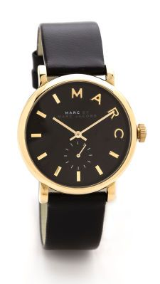 Marc by Marc Jacobs Leather Baker Watch, mineeeee