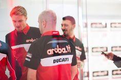 Chaz Davies e Davide Giugliano: i due piloti ufficiali del nuovo Team