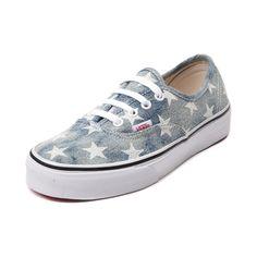 Vans Authentic Acid Wash Stars Skate Shoe