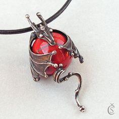 Držím a nepustím - Jaspis - amzn.to/2goDS3g - jewelry womens necklace ring - http://amzn.to/2hR83wC