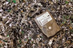 Need help in destructing confidential data on media storage? Call us at 602-313-1746 for shredding your hard drives, CDs, backup tapes, and thumb drives.