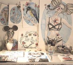 Kitt Buch beautiful, grotesque and humorous fairytale artworks | blog.noorverk.com