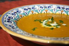 Inside a British Mum's Kitchen: Carrot and Ginger Soup to celebrate Autumn.