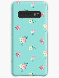 'watercolor pink and yellow flowers' Case/Skin for Samsung Galaxy by aninesatelier Framed Prints, Canvas Prints, Art Prints, Iphone Ca, Galaxy Design, Style Snaps, Sell Your Art, Yellow Flowers, Protective Cases